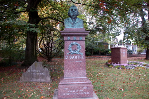 Garthe Denkmal Zoo Köln